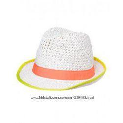 Новые шапки, береты, козырьки, панамки Gymboree для девочки