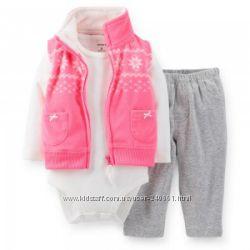 Теплые, красивые комплекты для малышей.
