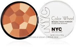 NYX румяна и бронзер  мозаика из 4 оттенков