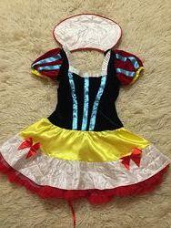 Платье Белоснежка размер М 38-40, отл. сост.