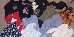 Пакет вещей и обувь на девочку от 3 до 5 лет из США, Германии, Англии