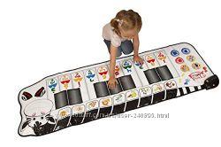 Детский интерактивный напольный коврик пианино из США 170 см