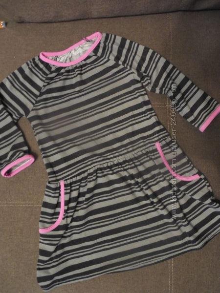 платья на 5-6 лет H&M, Англия, Carters, США