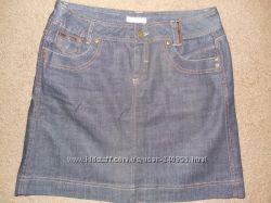 Джинсовая юбка Promod, Франция, размер С-М