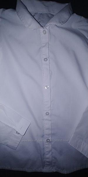 Белая блузка George 8-9 лет