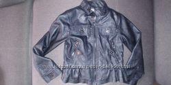 Байкерская куртка urban republic, США 5-7 лет, Джинсовая 7-8 лет childrens