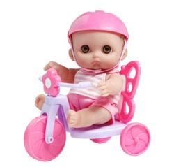 Пупс Мими на велосипеде, 22 см - JC Toys