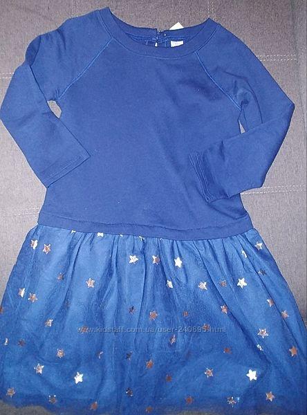 Платье carters на 6-8 лет состояние нового