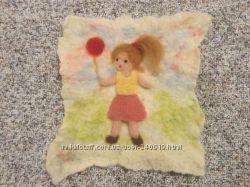 Дівчинка з кулькою