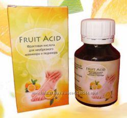 Fruit Acid - фруктовая кислота для биопедикюра и биоманикюра. Банка стекло