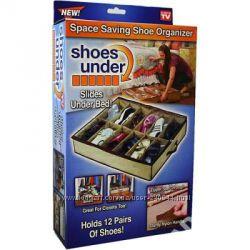 Органайзеры для обуви Shoes-under и Shoe Tote