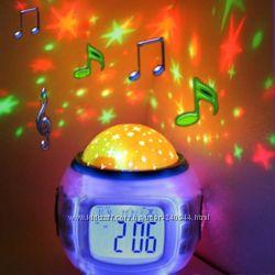 Светильник Star Master и часы-проектор звездное небо