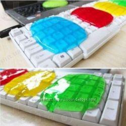 Гель супер очиститель Лизун для клавиатуры и прочего