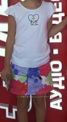 Футболка Gymboree на девочку 7-8 лет