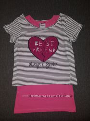 Набор двойка футболка Yigga Германия на девочку 9-10 лет