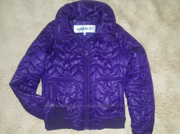 Куртка бомбер Adidas, размер 38