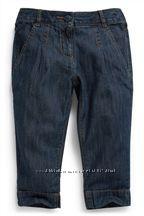 Капри джинсовые Next на девочку 12-14лет.