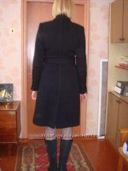 Шерстяное пальто осень-весна 44р-р