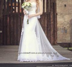 свадебное платье фасона рыбка копия РRONOVIAS