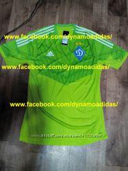 Игровая оригинальная вратарская футболка Динамо Киев Adidas