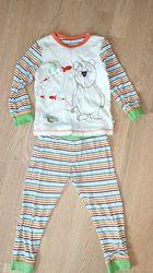 пижама Mothercare 2-3года