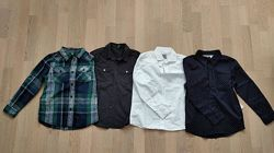 Рубашка для мальчика  6-7-8 лет Benetton, H&M