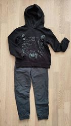 свитшот с капюшоном H&M 6-8лет