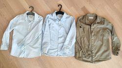 рубашки Zara 9 лет