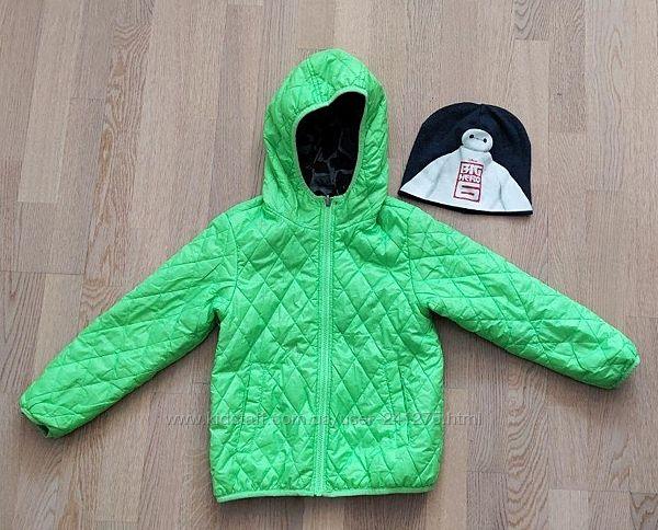 Двусторонняя демисезонная куртка Benetton 7 лет