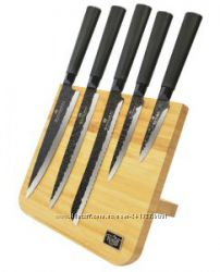 Наборы ножей на подставке 5 предметов Krauff
