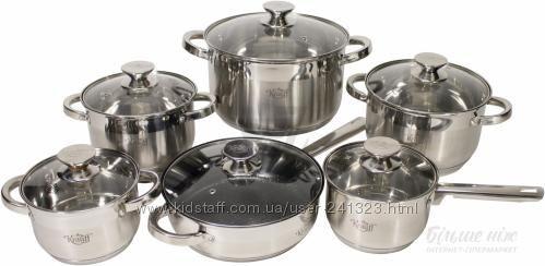 Набор посуды Krauff 12 предметов 88-222-006 - акция