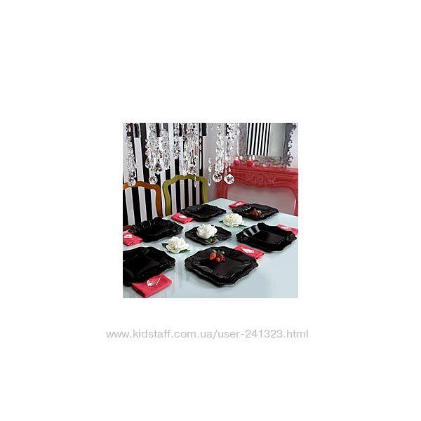 Сервиз столовый Luminarc Authentic Black 19 предметов E6196