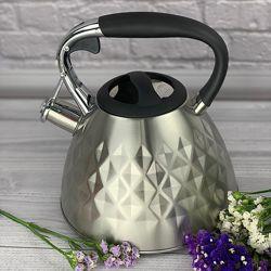 Чайник со свистком 3.0 л Maestro MR-1322