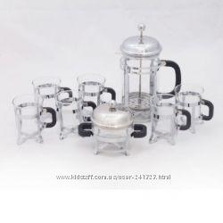 Набор чайный 3, 5 и 8 предметов Krauff