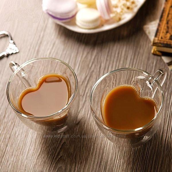 Набор чашек с двойными стенками 2 шт. 250 мл Ardesto AR2625GHL