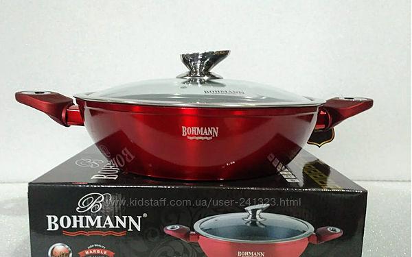 Сотейник с мраморным покрытием Bohmann 28 см BH 2628 NS