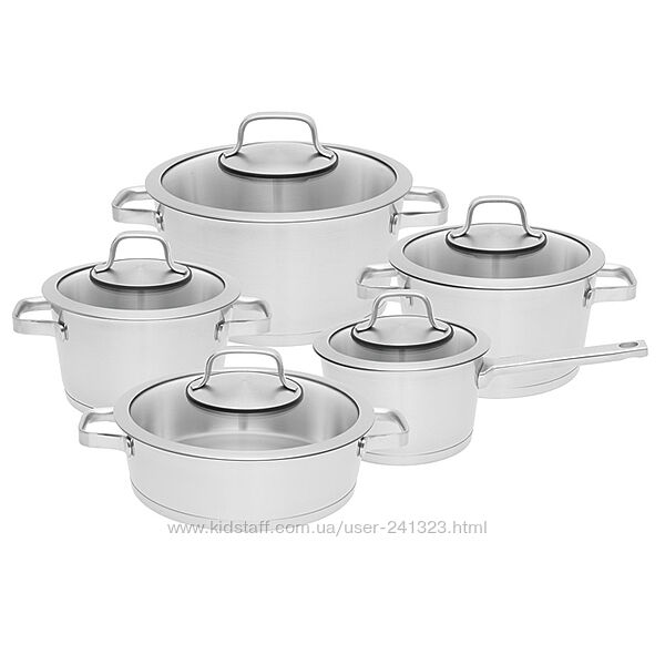 Набор посуды BergHOFF Essentials Manhattan 10 предметов 1110005 - акция