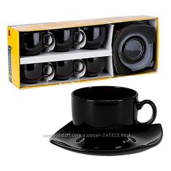 Сервиз чайный Luminarc Quadrato Black E8848 12 пр