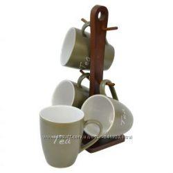 Набор чашек чайных Nature 5 предметов Krauff 24-269-028