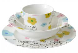 Набор детской посуды Krauff Funny Sheep 3 предмета 21-244-041