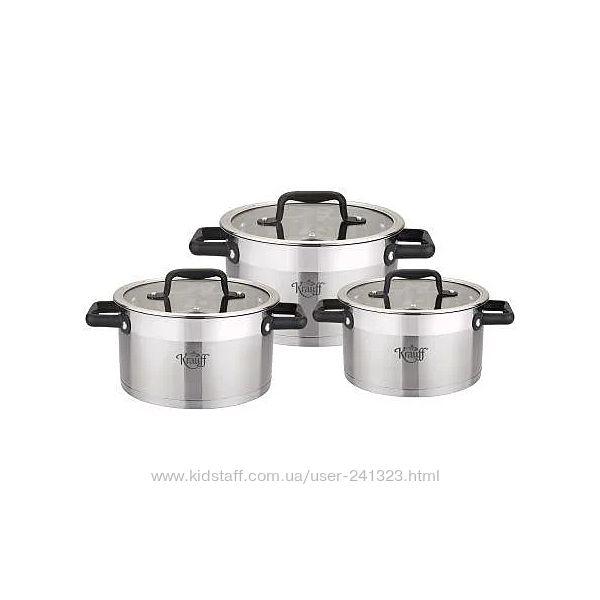 Набор кастрюль 6 предметов Krauff 26-295-012