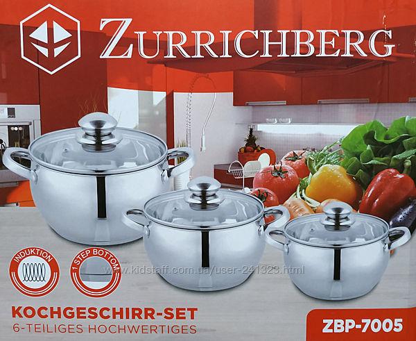 Набор кастрюль Zurrichberg 6 предметов ZBP-7005