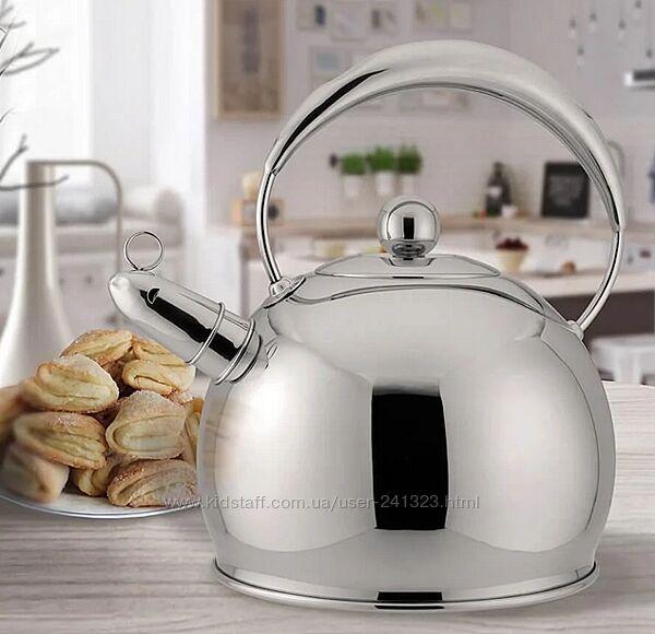 Чайник со свистком 3.0 л Maestro MR-1330