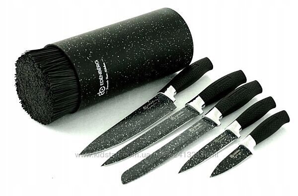 Набор ножей с подставкой 6 предметов Edenberg EB-5103B