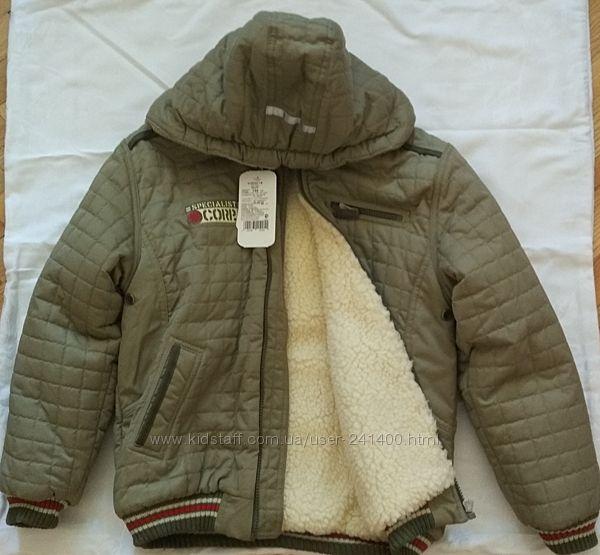 Продается теплая куртка, р. 134
