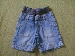 джинсовые шорты на рост 80 см