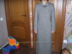 Пальто демисезонное-зимнее, полушерстяное, 46 размер