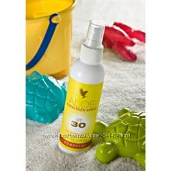 Солнцезащитный спрей на основе сока алое, для детей от 6 месяцев. США
