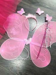 Крылья ангела, бабочка и фея