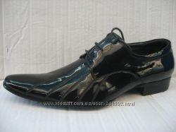 Туфли ATRIBOOTS натур. кожа лак р. 43, 44, 45 оригинал